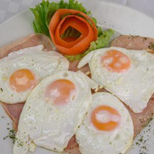 bistro arka omlet dorucak