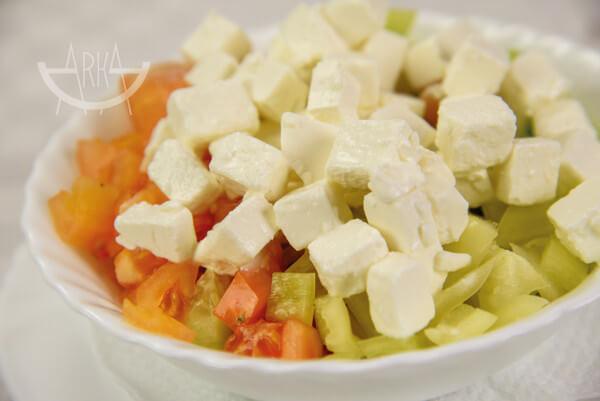 Šopska salata bistro Arka